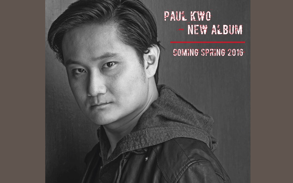 Paul Kwo new album
